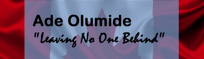 Ade Olumide No One Left Behind